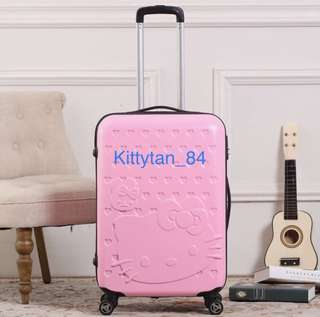 (Pink)Brand New Hello Kitty 20 inch Luggage/Hard Case/Travel/Holiday/Suitcase