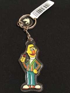 🈹Sesame Street Bert 硬膠牌匙扣