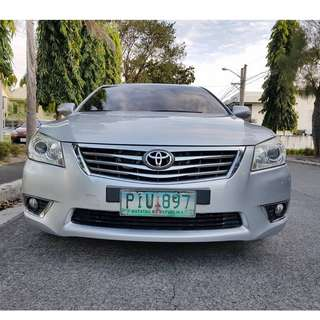 Toyota Camry 2011 G Automatic