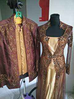 Couple Wedding outfit