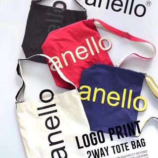 Anello logo 2 way bag
