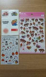 Stickers and Temporary Tattoo