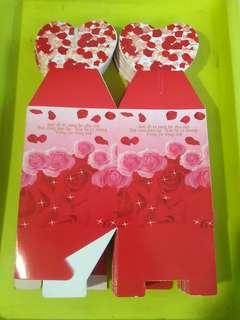 心心 玫瑰 小禮物盒 4個