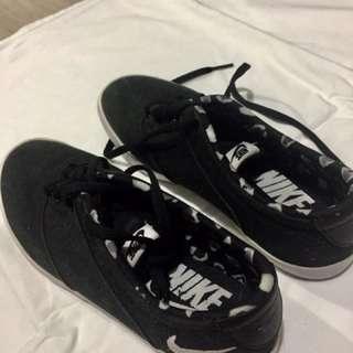 Nike Black Rubber Shoes