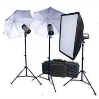 Godox 900 watts studio kit - 3 pcs kit