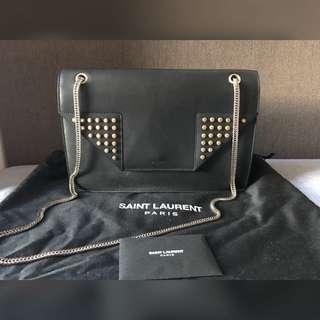 YSL Betty Chain Bag Medium Studded 鍋釘鏈袋