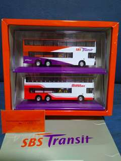 SBS Transit Commemorative Bus Models