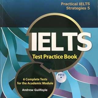 🚚 ✨IELTS Test Practice Book5👍