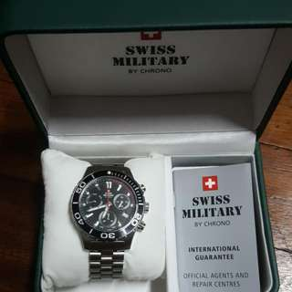 Swiss Military By Chrono Watch