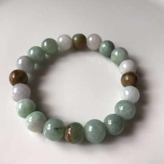 Jade Bead Bracelet - unisex wearable