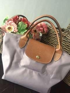 Longchamp Le Pliage Multicolor Putty - Small Top Handle Bag