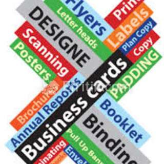 Professional board, leaflet, namecard, printing services