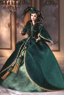 絕版 亂世佳人 Gone with the wind Barbie