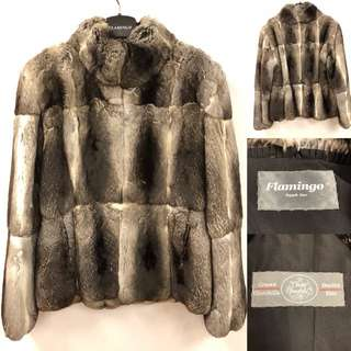 Flamingo Chinchilla fur jacket size 38