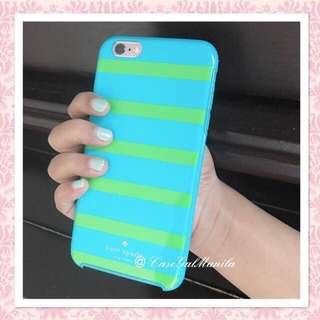 AUTHENTIC KATE SPADE KINETIC STRIPES CASE FOR IPHONE 6 PLUS