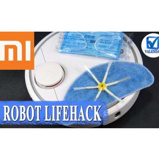 Xiaomi MiJia Roborock Robot Vacuum Cleaner 2 White Sweeping Mopping App Control