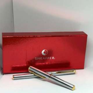 NEW•SHEAFFER Rollerball & Fountain Pen Set