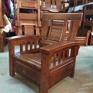 黃花梨實木單人椅出清