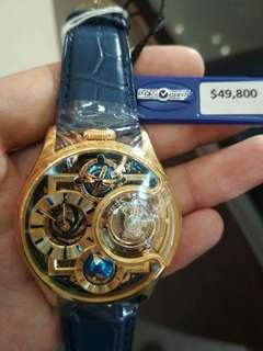 香港万希泉-陀飞轮腕表  两三万就有一只 设计独特精美 值得收藏