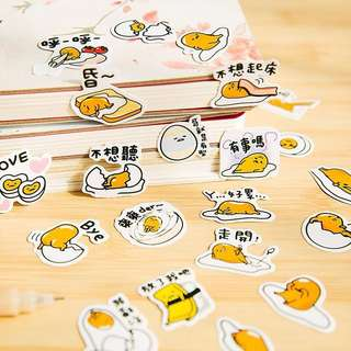 Gudetama Stickers