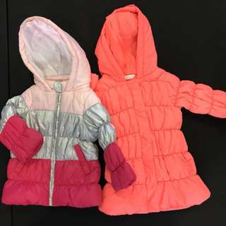 Used winter jackets