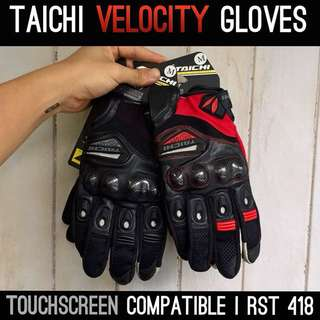 [TOUCHSCREEN COMPATIBLE] Taichi Velocity Gloves | RST 418