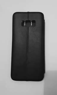 S8 Leather Black phone case