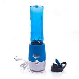 Blender Buah Dobule Cup Portable 2 in 1 500ml - Blue