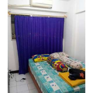 Unit bulanan 2Kamar semi furnish 9juta/3bulan