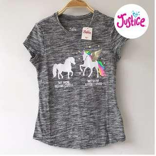 Justice unicorn tee