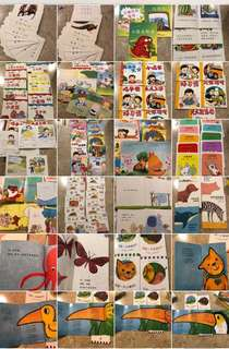 Chinese story books, cards & readers