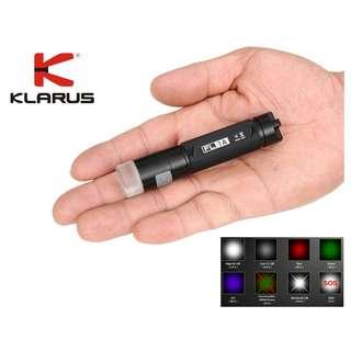 Klarus FL1A 美國名廠 CREE XP-G2 1A LED 65流明 Flashlight 多色 電筒 ( UV, 紅光, 綠光 ) - 原裝行貨
