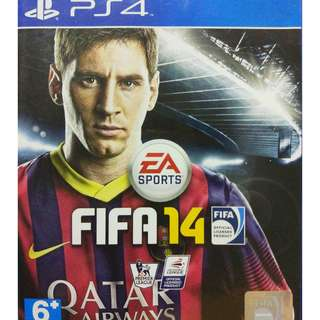 [Reserved] Used Playstation 4 PS4 Fifa 14 Region 3 (NEAREST MRT)