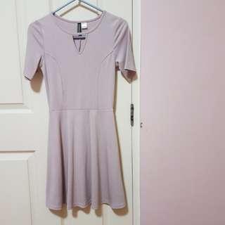 H&M pastel pink dress