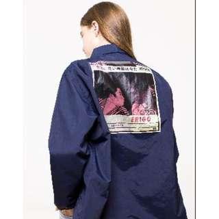 ERIGO 'Attack Navy' Coach Jacket