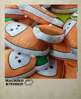 (預購款)ㄇㄚˊ幾兔 抱枕 靠枕 攬枕 咕𠱸 紅蘿蔔造型 麻幾兔 麻吉兔 cushion 台灣 machiko YUKIJI
