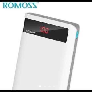 Authentic Romoss sense 6p 20000mah