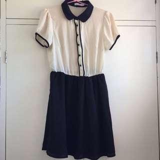 Vintage Style Dress - Size 10