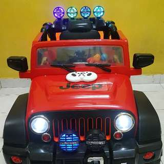 Electric Jeep With Remote Controller