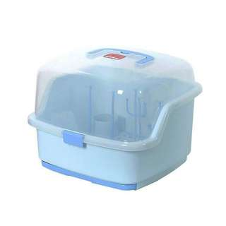 Baby milk bottle storage container