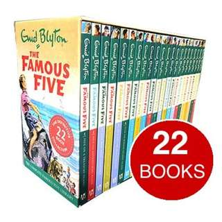 The Famous Five Complete Collection - Enid Blyton (22 Books)