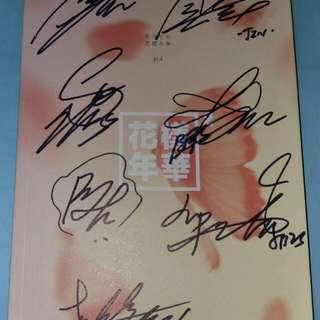 BTS  親筆簽名 專輯 花樣年華 粉紅版