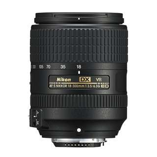 NEW Nikon AFS 18-300mm f3.5-6.3 DX VR Lens