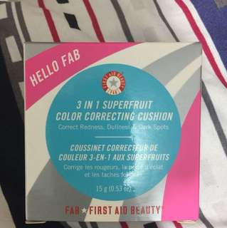 3 in 1 superfruit color correcting cushion (unopen)