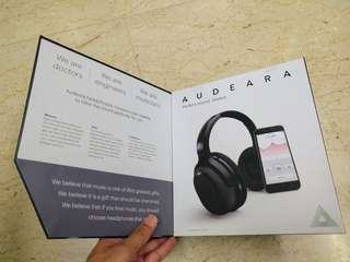 Audeara Customized Hearing Bluetooth Headphones