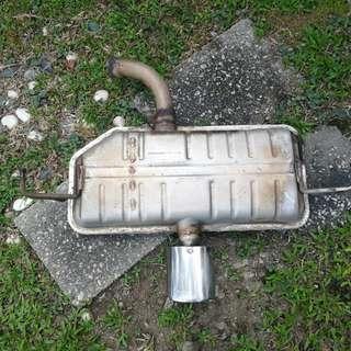 Exhaust Satria neo standard