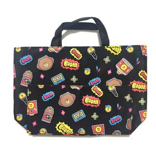 Line friends handbag/lunch box bag/細手袋/飯袋