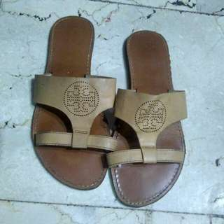 Authentic Tory Burch slip-ons/ slides