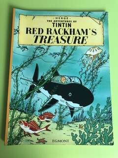 Adventures of tintin red rackhams treasure