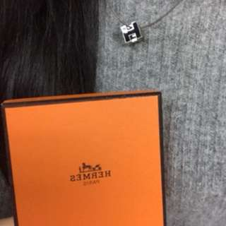 Hermes H Cube 頸鏈 耳環 YSL Celine Tiffany